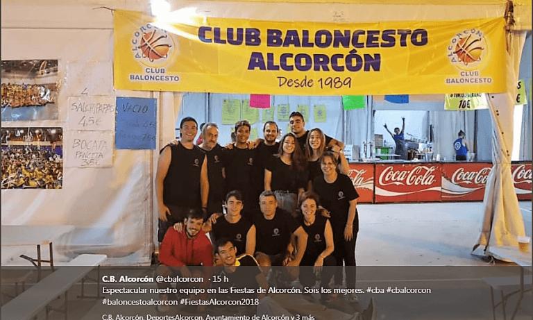 Fiestas de Alcorcón, Club baloncesto Alcorcón