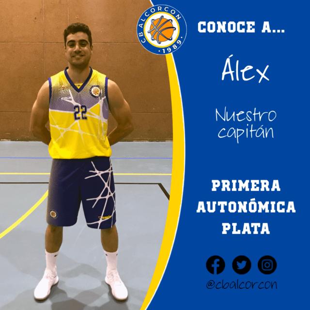 Conoce a… Álex López