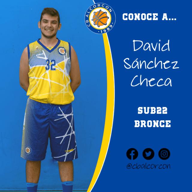 Conoce a… David Sánchez Checa