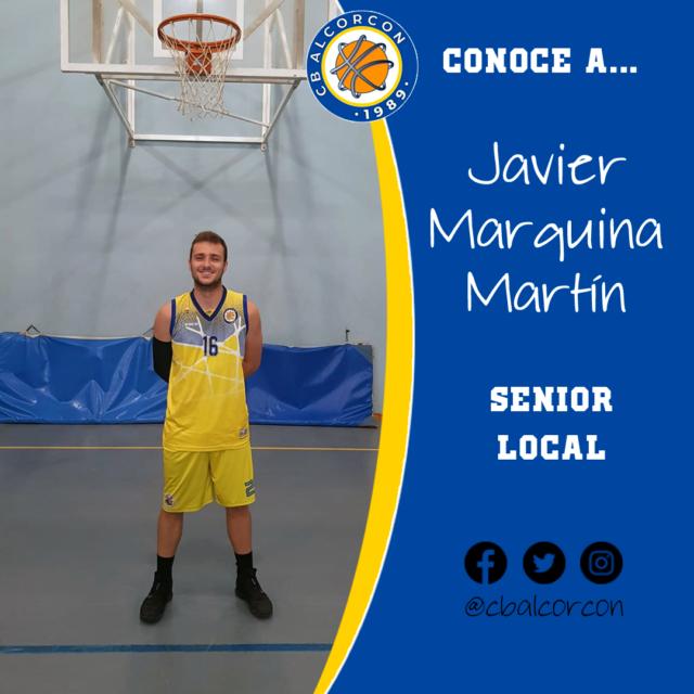 Conoce a… Javier Marquina Martín