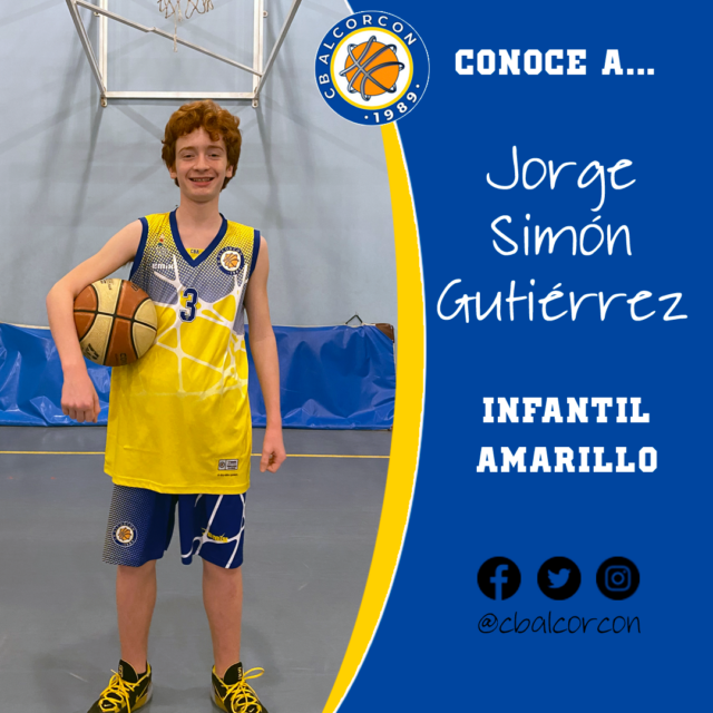 Conoce a… Jorge Simón Gutiérrez