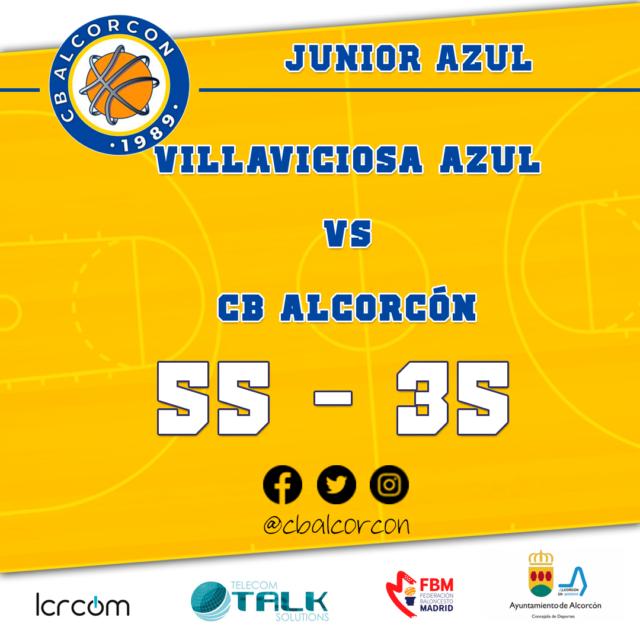 ABVO Villaviciosa Azul 55 – CB Alcorcón 35