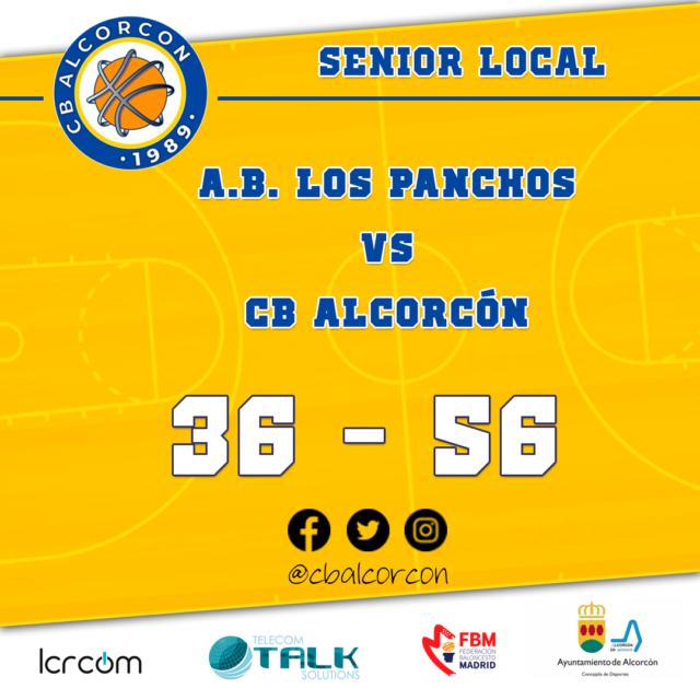 A.B. Los Panchos 36 – CB Alcorcón 56