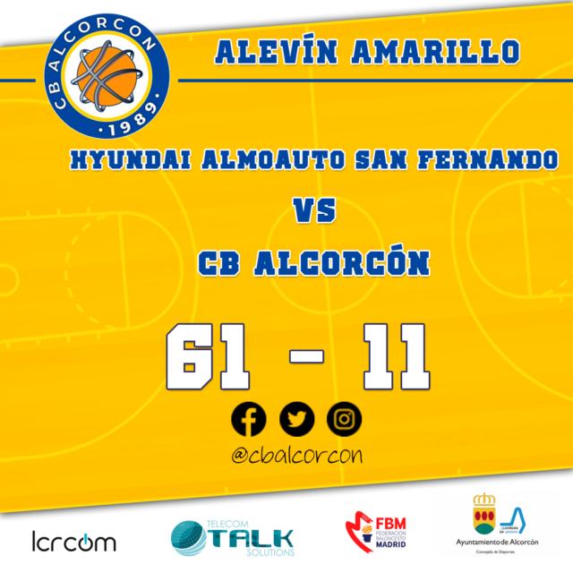 Doble jornada Alevín Amarillo (30/11 – 01/12)