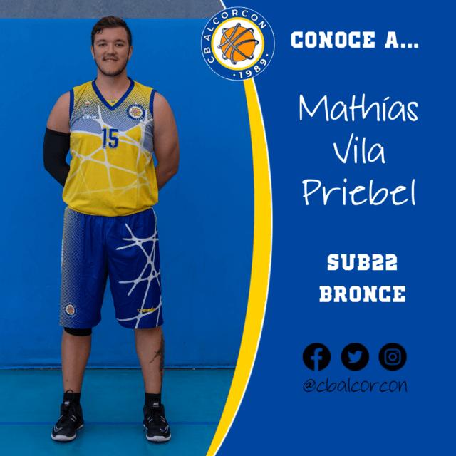Conoce a… Mathías Vila Priebel
