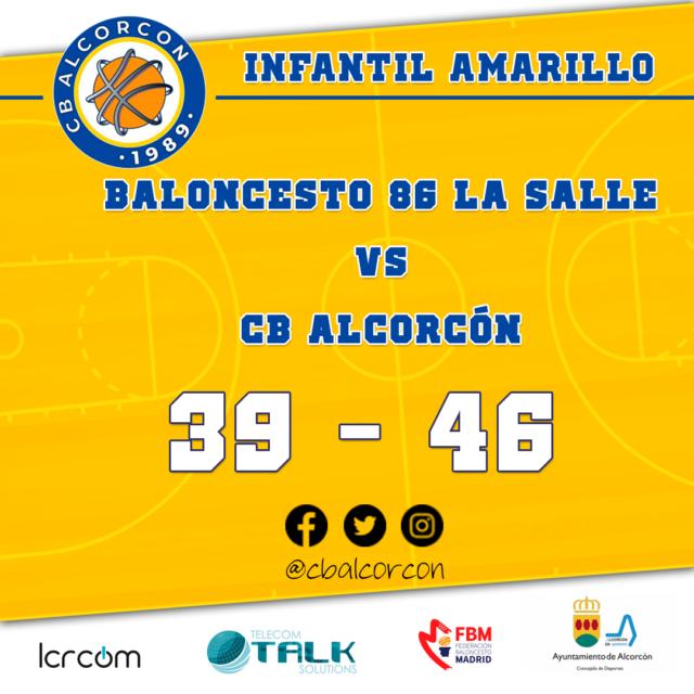 Baloncesto 86 La Salle 39 – CB Alcorcón 46