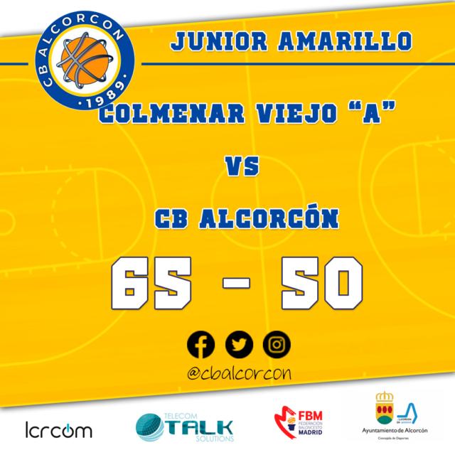 Colmenar Viejo «A» 65 – CB Alcorcón 50