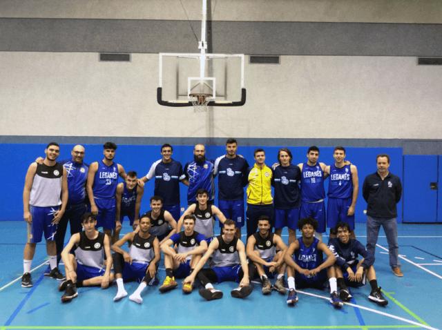 Amistoso Sub22 Oro frente a Baloncesto Leganés