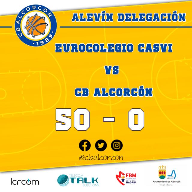 Eurocolegio Casvi 50 – CB Alcorcón 0