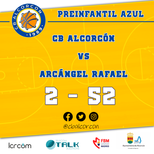 CB Alcorcón 2 – Arcángel Rafael 52