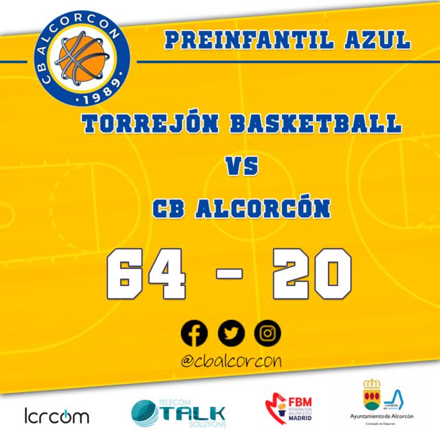 Torrejón Basketball 64 – CB Alcorcón 20