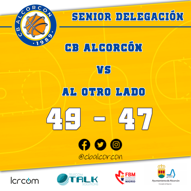 CB Alcorcón 49 – Al Otro Lado 47