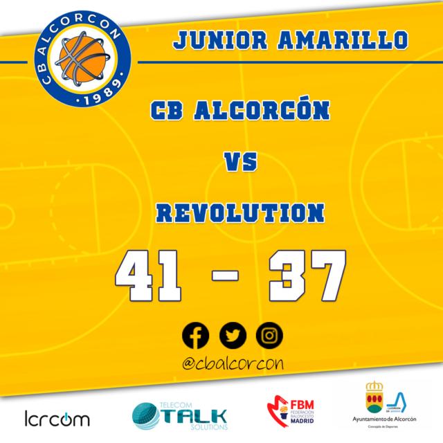 CB Alcorcón 41 – Revolution 37