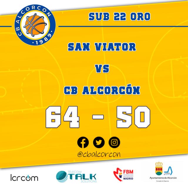 San Viator 64 – CB Alcorcón 50