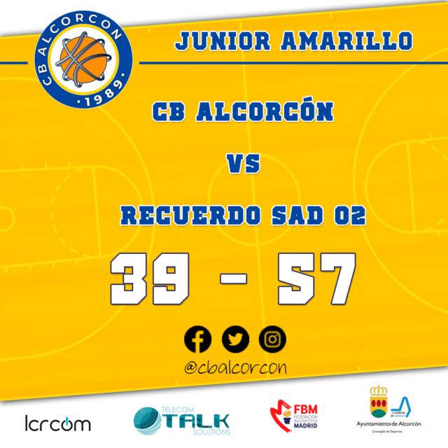 CB Alcorcón 39 – Recuerdo SAD 02 57
