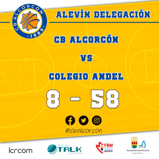 CB Alcorcón 8 – Colegio Andel 58