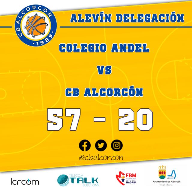 Colegio Andel 57 – CB Alcorcón 20