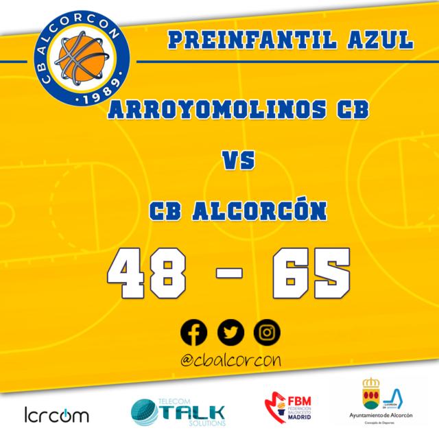 Arroyomolinos CB 48 – CB Alcorcón 65