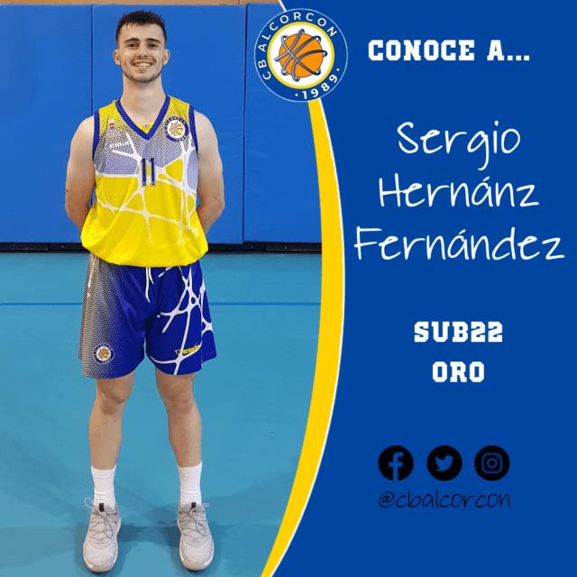 Conoce a… Sergio Hernánz Fernández