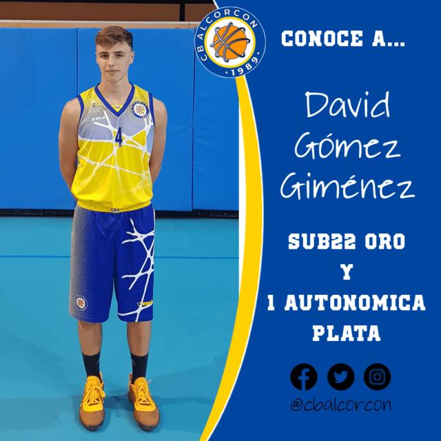 Conoce a… David Gómez Giménez