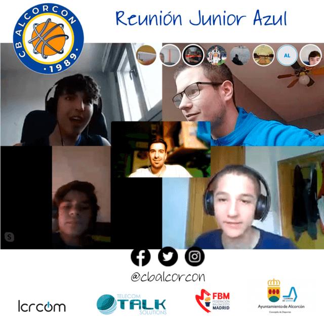 Reunión Junior Azul