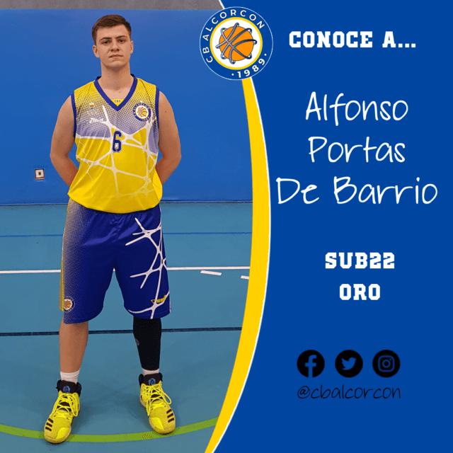 Conoce a… Alfonso Portas De Barrio