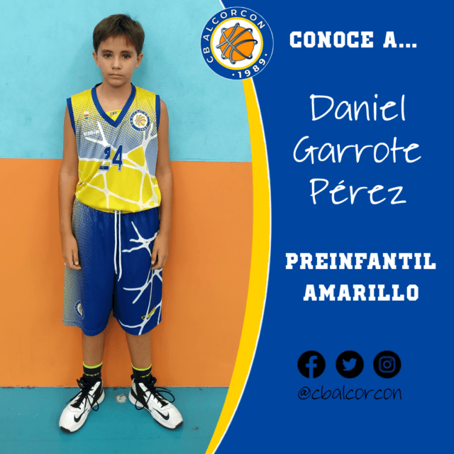 Conoce a… Daniel Garrote Pérez