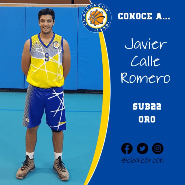 Conoce a… Javier Calle Romero