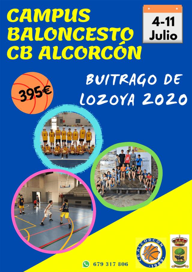 Dossier del Campus 2020 de Verano en Buitrago del Lozoya