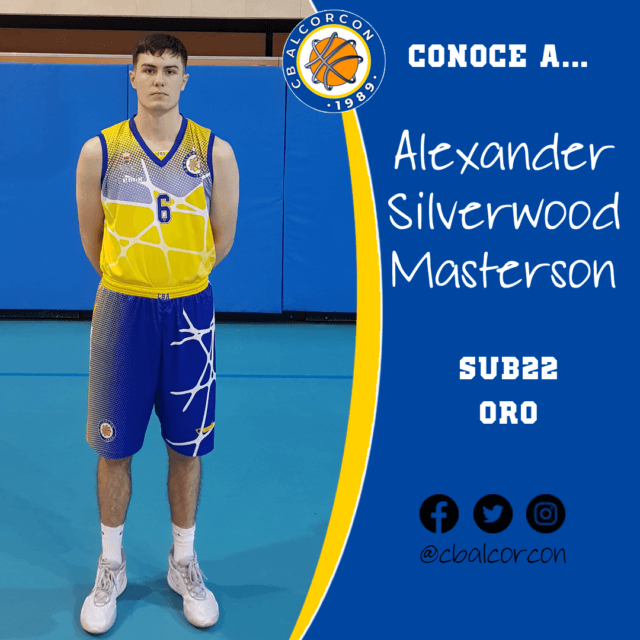 Conoce a… Alexander Silverwood Masterson