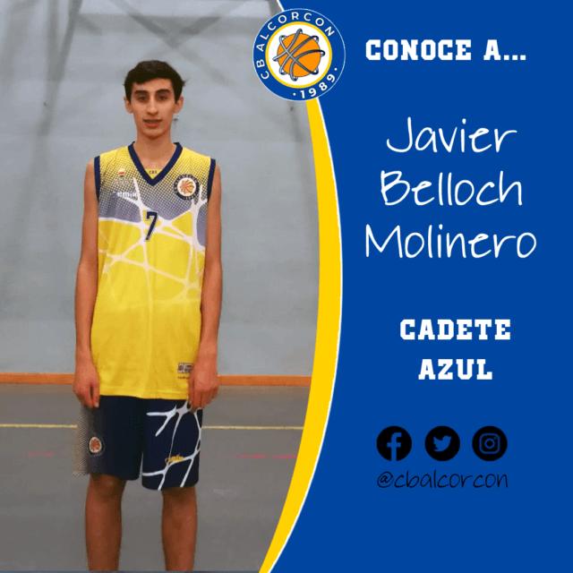 Conoce a… Javier Belloch Molinero