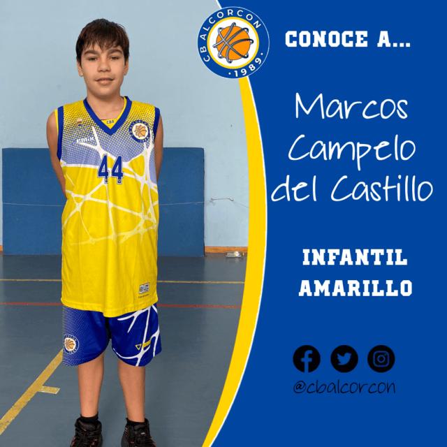 Conoce a… Marcos Campelo del Castillo