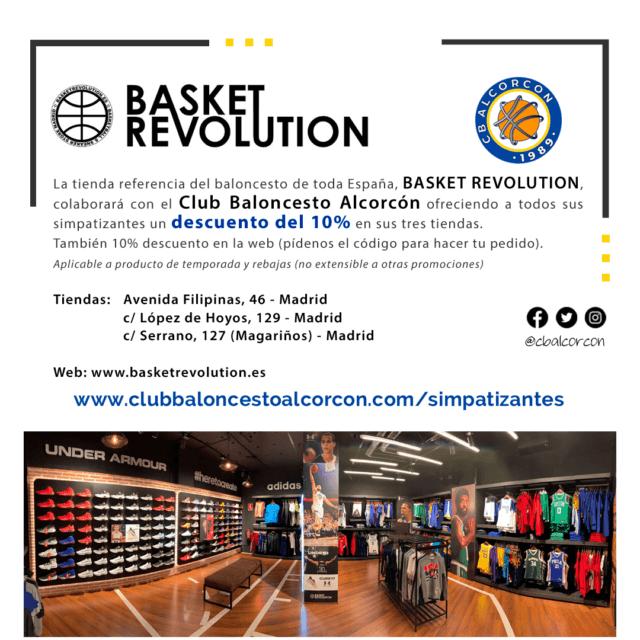 Basket Revolution – Colaborador Club Baloncesto Alcorcón