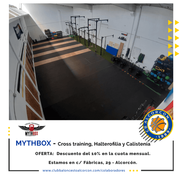 Myth Box Training – Colaborador Club Baloncesto Alcorcón
