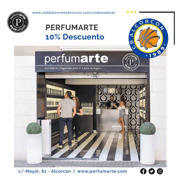 Perfumarte – Colaborador Club Baloncesto Alcorcón