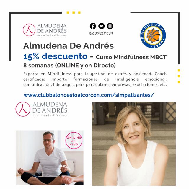Almudena de Andrés – Colaboradora del Club Baloncesto Alcorcón