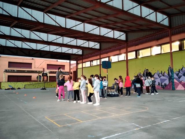 Inicio de la Escuela de Baby Basket del CB Alcorcón