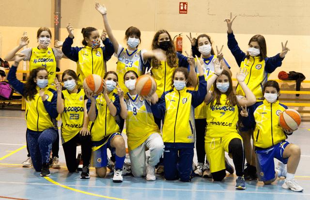 10/04/21. Infantil Femenino. CB Alcorcón vs Vallmont CDE