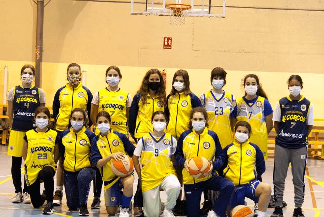 20/02/21. Infantil Femenino. CB Las Rozas Rojo vs CB Alcorcón