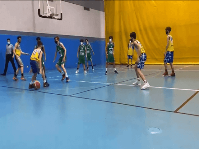 06/02/21. Cadete Azul. CB Alcorcón vs Raíces Móstoles Verde