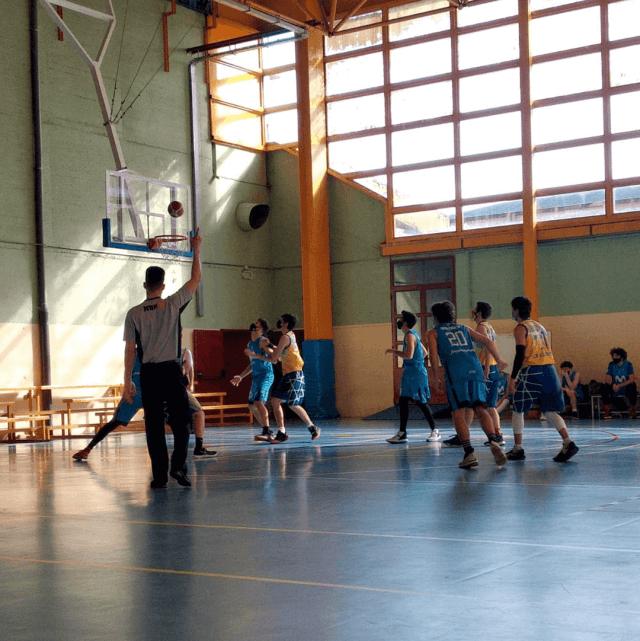 23/01/21. Junior Amarillo. Movistar Estudiantes «C» vs CB Alcorcón