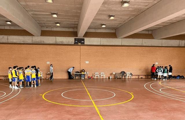 06/02/21. Cabrini A.P.A. vs Infantil Amarillo CB Alcorcón