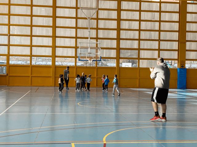 30/01/21. Entrenamiento de la Escuela de Baby Basket