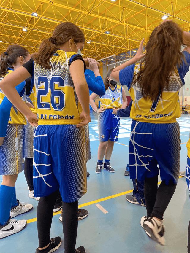 27/02/21. Infantil Femenino. CB Alcorcón vs Novum Energy Liceo Francés