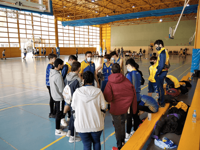 06/03/21. Cadete Amarillo. CB Alcorcón vs San Viator «B»