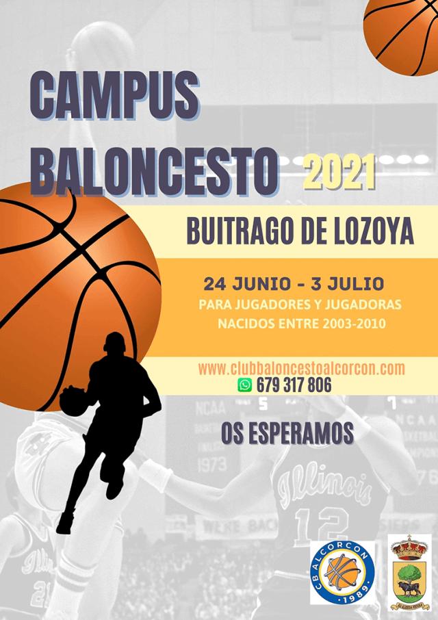 Campus de Verano 2021 en Buitrago del Lozoya