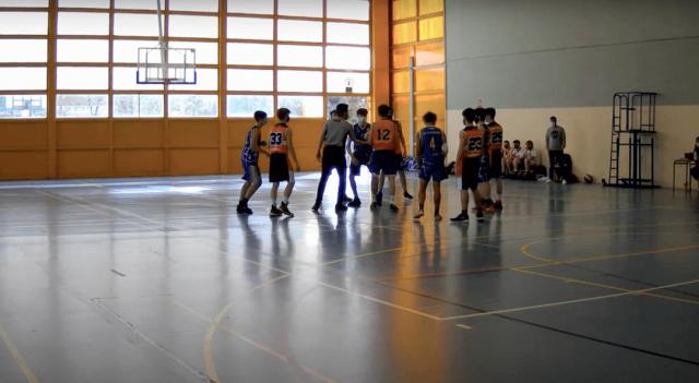 10/04/21. Cadete Amarillo. CB Alcorcón vs Majadahonda Azul