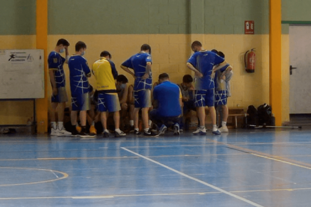 27-03-21. Junior Amarillo. CB Alcorcón vs Torrejón Basketball «B»