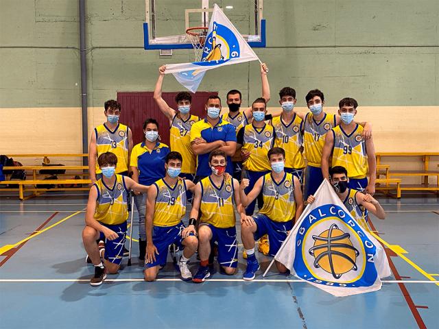 22/05/21. Junior Amarillo. Alcorcón Basket «D» vs CB Alcorcón