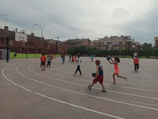 27/05/21. Escuela Babybasket. Pasos de Gigante